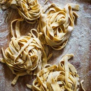 Zelfgemaakte pastalinten