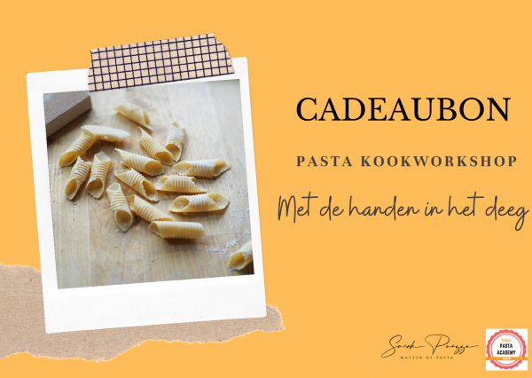 Cadeaubon Pasta Academy