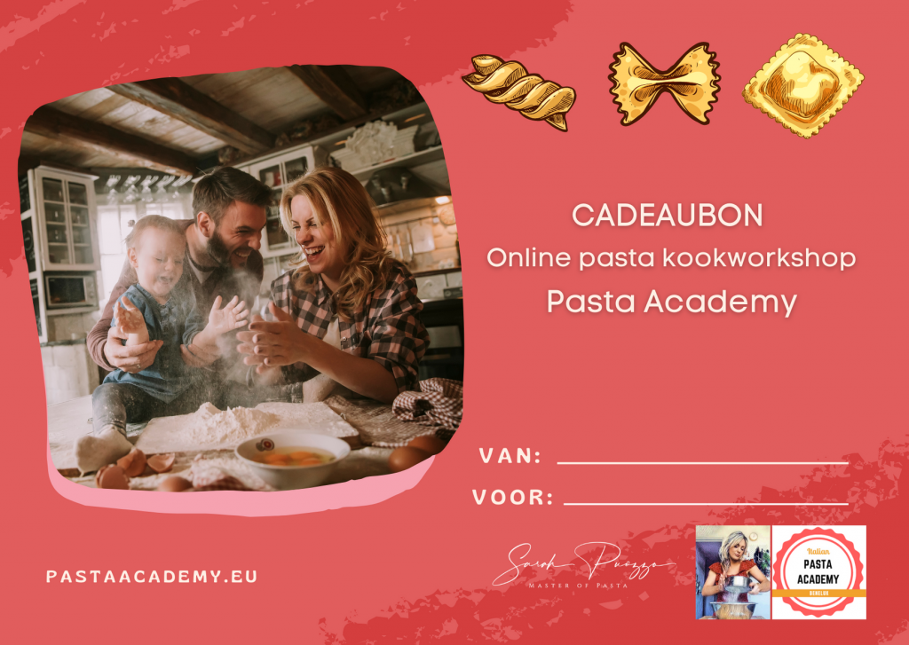 Pasta kookworkshop cadeau